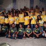 Voluntários e equipe da Cristolândia na Bahia
